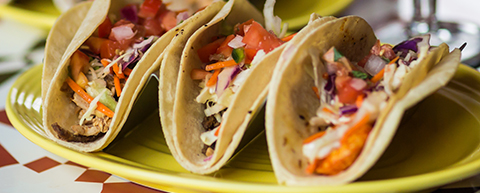 $2 Tacos, Margarita, Hot Taco Signature Draft
