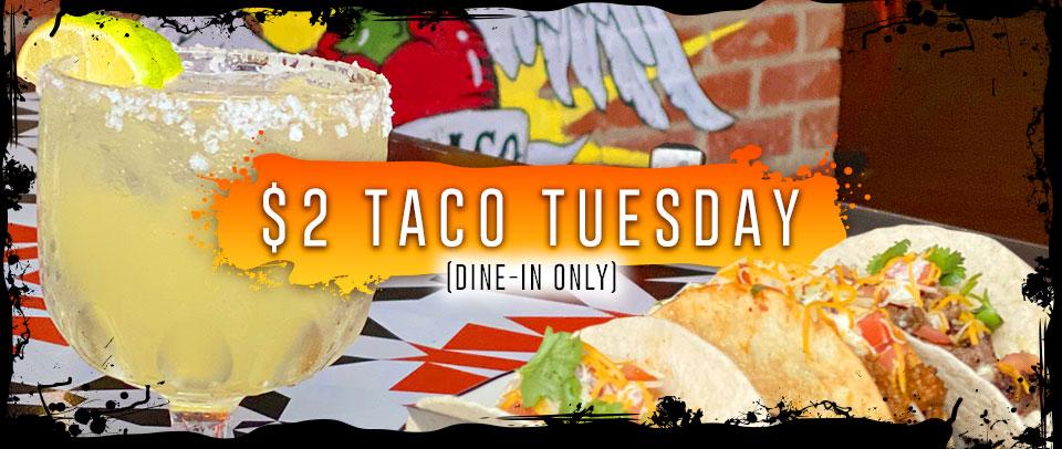 $2 Taco Tuesday